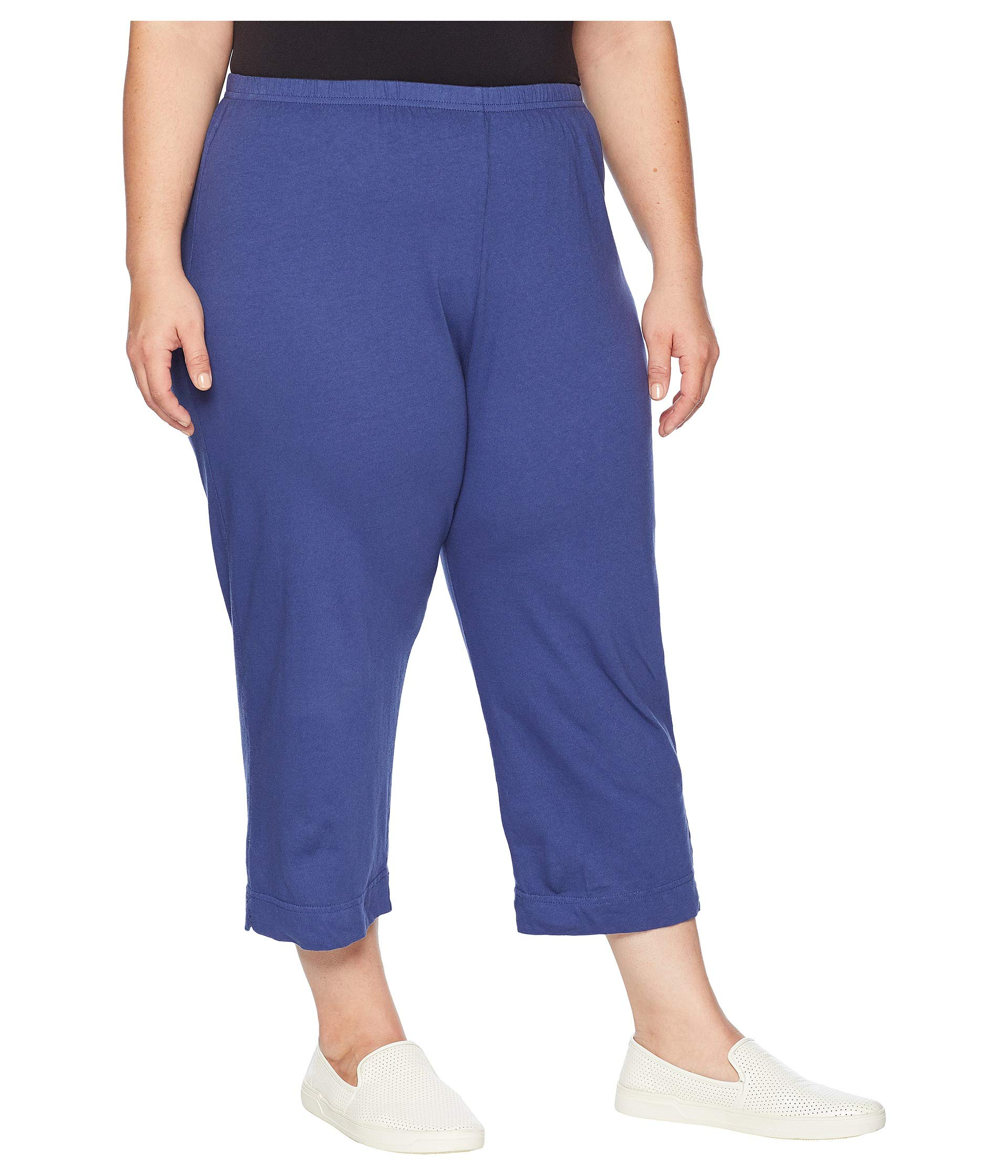 Blue Plus Extra Pants Fresh Produce By Moonlight Capri Jersey Size HH6FvOTqw