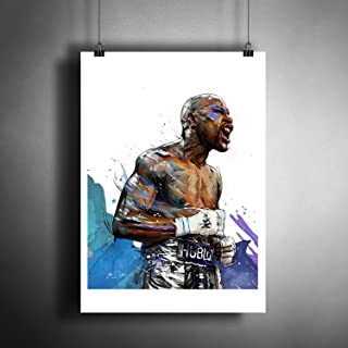Floyd Mayweather Jr. UFC MMA Art Poster Photo Print Decor Artwork (A3 size (297×420 mm (11,7×16,5 inches))
