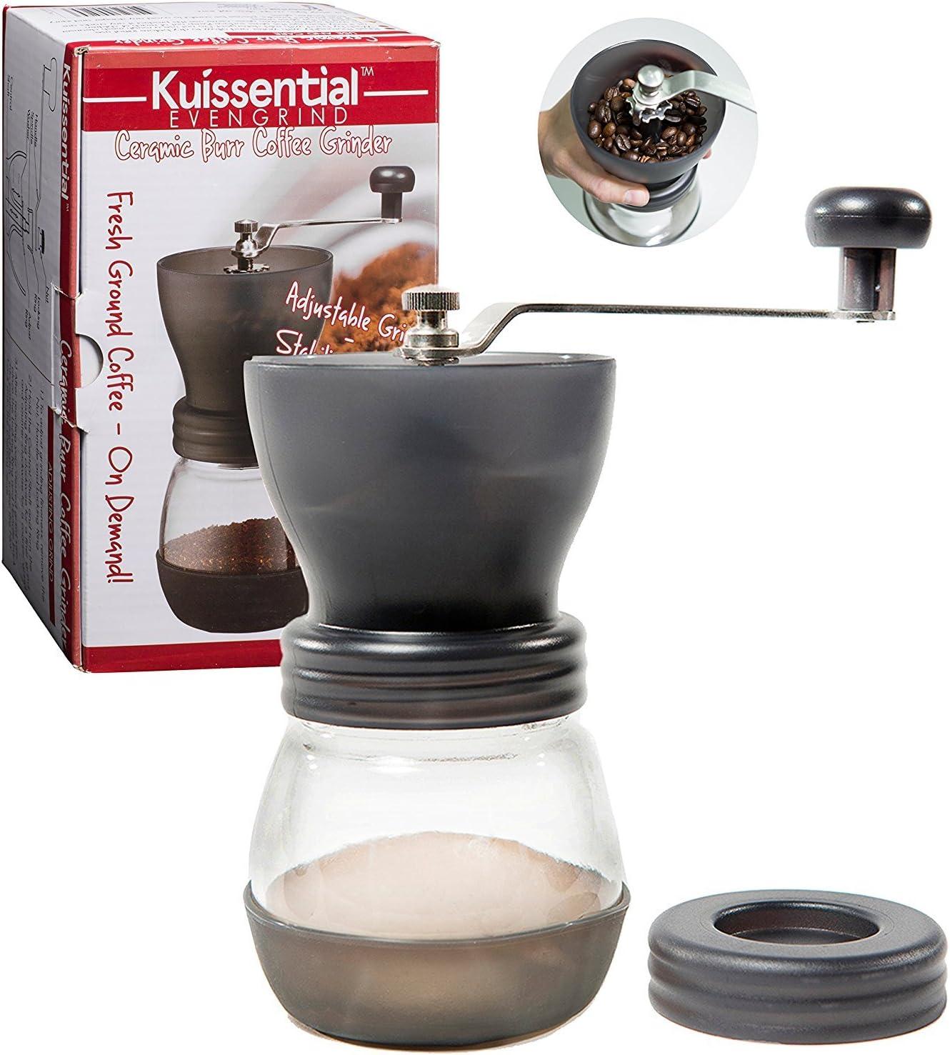 Manual Coffee Burr Grinder- The w EvenGrind Patented Finally resale start Super Special SALE held Original St