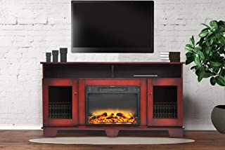 Best red fireplace tv stand Reviews