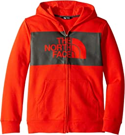 2cbab9011 The north face kids boys surgent full zip hoodie little kids big ...