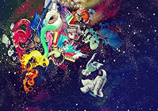 My Little Poster Post Trippy Space Astronaut Decorative Wall Art
