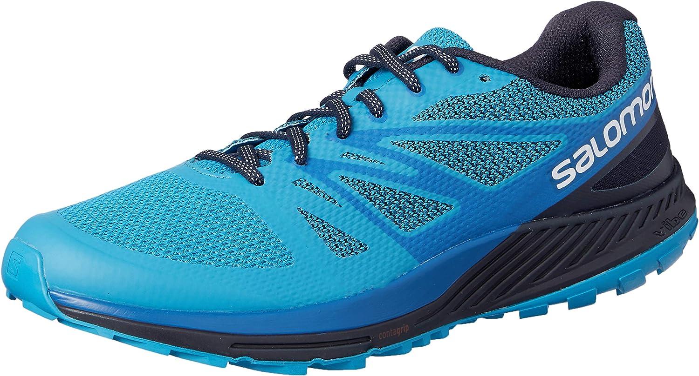 Salomon Men's Sense Escape Trail Running shoes, blueee (Hawaiian Surf Snorkel blueee Night Sky)