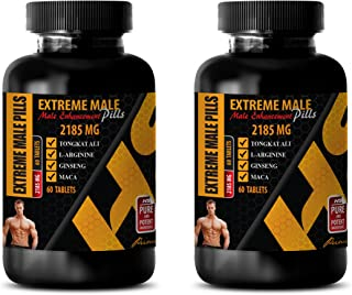 Testosterone Booster for Men Muscle Growth - Extreme Male Enhancement Pills - tribulus terrestris Extract Testosterone - 2...