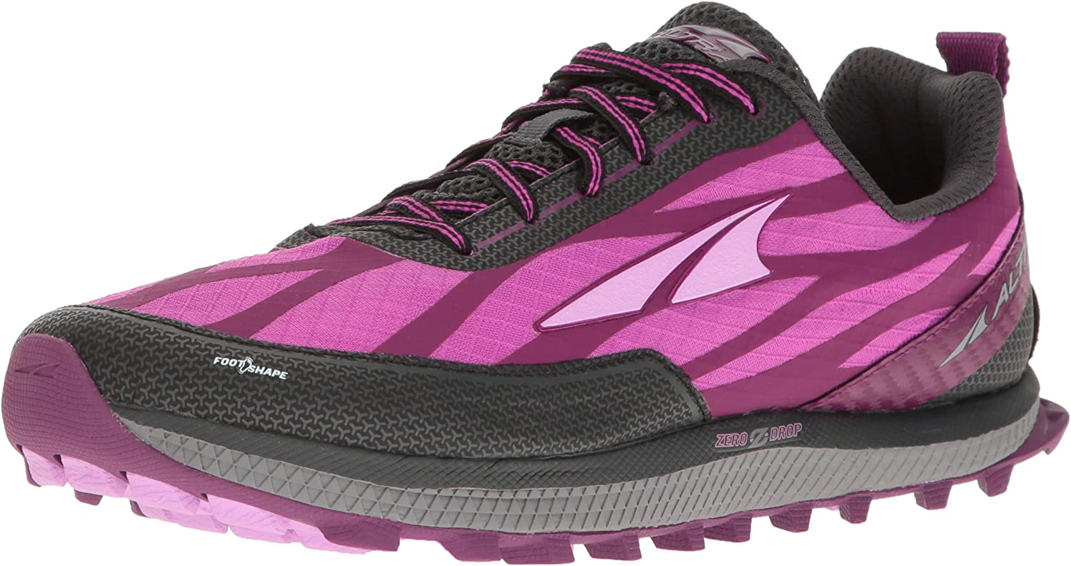 Altra Women's Superior 3 Running shoes, Raspberry, 5.5 M US