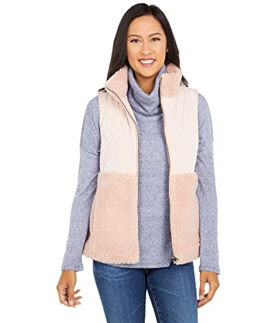 Dylan by True Grit Powder Puff Quilted Vest (Soft Pink) Women