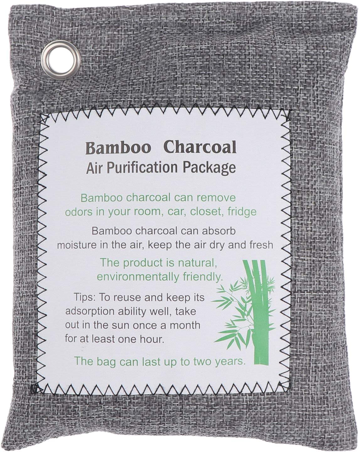 Wusteg Bamboo Charcoal Bags Purif Year-end gift Air Spasm price Natural Purifying