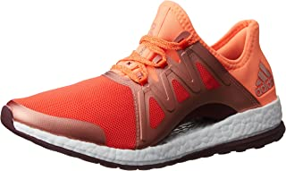 adidas Performance Womens Pureboost Xpose Lace Up Running Sports Trainers-Orange