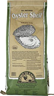 Down To Earth 100% Natural Oyster Shell Soil Conditioner - 25 lb