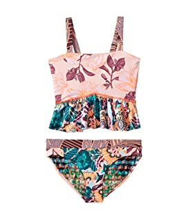 Rose of the Desert Tankini Set (Toddler/Little Kids/Big Kids)