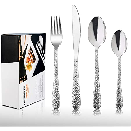Flatware set serve for 6 18//10 Stainless Steel Modern /& Elegant Design Otto Koning 42 Piece Cutlery Set Thickness 4mm Mirror Polished Dortmund