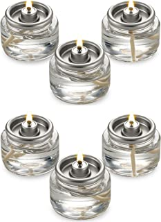 Fuel Cell Tealights Liquid Oil Candles Paraffin 8 Hour Burn - in a Box - 90Pack - Disposable