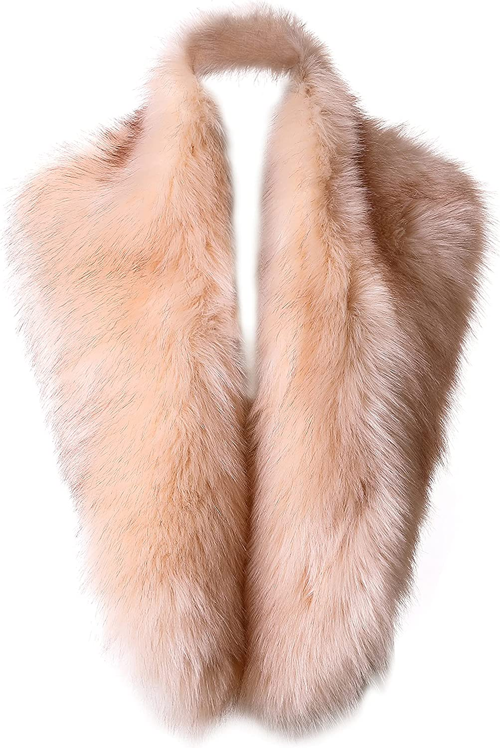 Yetagoo Womens Winter Long Faux New products, world's highest quality popular! Fur Collar 192 Low price Shawl Stole Scarf