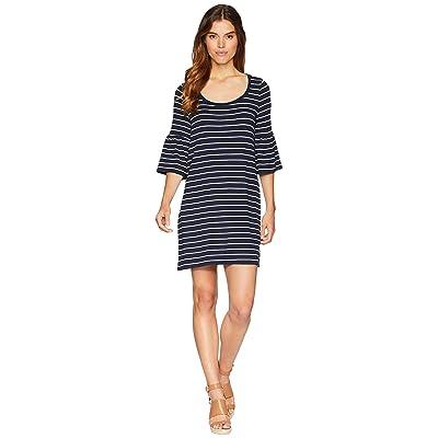 BB Dakota Shades Of Cool Striped Dress (Midnight Sky) Women