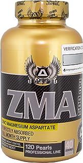 ZMA | ARES - 120 perlas - Zinc Magnesio y Vitamina B6. mejora la calidad
