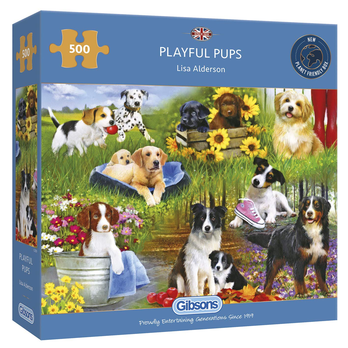 Gibsons The Missing Piece Jigsaw Puzzle 500 Piece