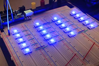ACROBOTIC 4-Pack WS2812B RGB LED Breakout Board for Arduino Raspberry Pi ESP8266 WS2812 WS2811
