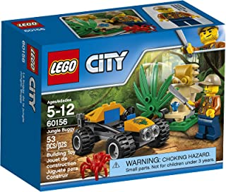 LEGO City Jungle Explorers Jungle Buggy 60156 Building Kit (53 Piece)
