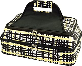 Picnic at Ascot Original Insulated Double Layer Thermal Food and Casserole Carrier- keeps Food Hot or Cold- Designed & Quality Approved in the USA