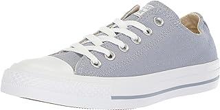 Converse CTAS Ox, Basket Femme, Bleu Glacier Grey White 552, 36.5 EU