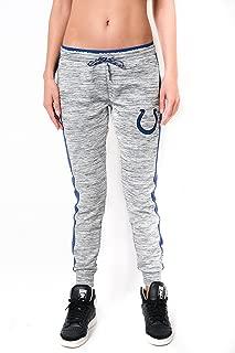 Ultra Game NFL Women's Active Basic Fleece Jogger Sweatpants