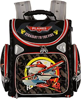"""Jasmine Star 15"""" Primary School Children EVA Solid Kids' Satchel School Backpack, Aircraft"""