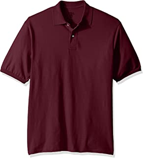 Men's SpotShield Stain Resistant Polo Shirts (Short & Long Sleeve)