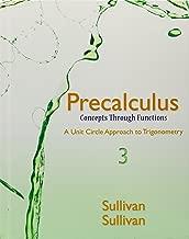Precalculus: Concepts Through Functions, a Unit Circle Approach to Trigonometry, Mylab Math Inside Star Sticker, Mylab Math -- Glue-In Access Card