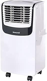Honeywell MO Series Compact 3-in-1 Portable Air Conditioner, Rooms up to 350 Sq. Ft, White/Black