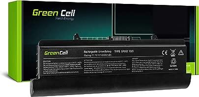 Green Cell Extended Serie GW240 Laptop Akku f r Dell Inspiron 1525 1526 1545 1546  9 Zellen 6600mAh 11 1V Schwarz