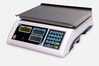 Balanza de contador digital de alta precisión, báscula de precio eléctrico para el mercado de alimentos/supermercado