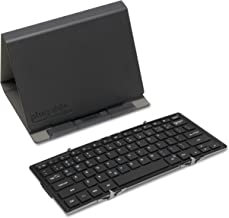 Plugable Bluetooth Keyboard Compatible with iPhones, iPads, Android, and Windows, Full-Size Bluetooth Portable Keyboard (1...