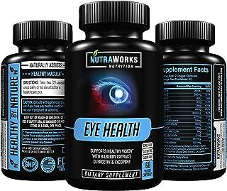 Eye Health Support Supplement - Premium Vision Support Vitamins for Healthy Eyes & Retina with Lutein, Zeaxanthin, Zinc, B...