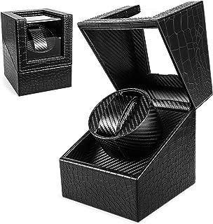Enrollador automático de relojes, caja de reloj Gifort Enrollador de reloj Silenciador para relojes Almacenamiento de toca...