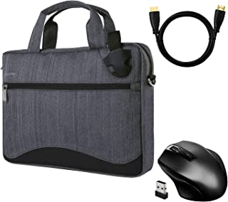 """SumacLife Canvas Laptop Backpack For 15.6/"""" Dell XPS 15//HP ZBook Wireless Mouse"""