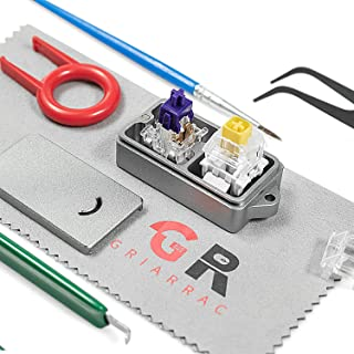 Griarrac Aluminum Switch Opener for Kailh Gateron Cherry MX Switches Mechanical Keyboard, with Switch Puller Keycap Puller...