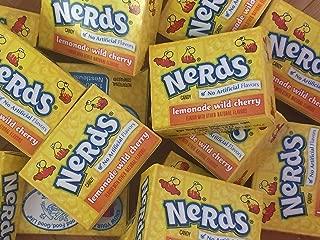 Wonka Nerds Mini Boxes Lemonade Wild Cherry ALL YELLOW Candy 3 Pounds 93pc