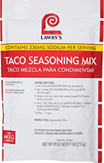 lawry's taco seasoning recipe
