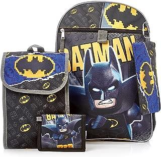 Batman Lego Backpack 5-Piece Set