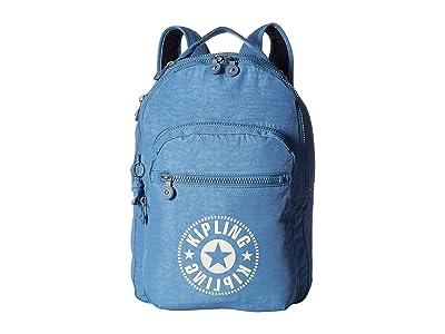 Kipling Clas Seoul Backpack (Dynamic Blue) Backpack Bags