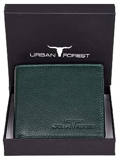 Urban Forest Stan Green RFID Blocking Minimalist Leather Wallet for Men…