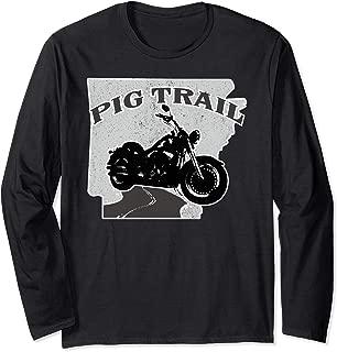 Arkansas Ozarks Pig Trail Motorcycle Bikes Blues BBQ Shirt