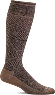 Sockwell Men's Chevron Twill Firm Graduated Compression Sock