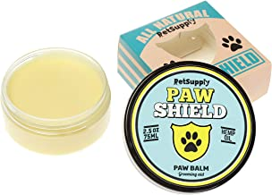 Dog Paw Balm - Natural Dog Paw Protection and Paw Soother for Dry and Cracked Paw Pads - 2 ounces