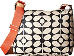 Orla Kiely Sixties Stem Nylon Large Crossbody