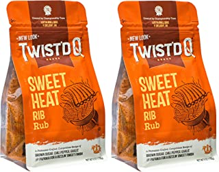 Twist'd Q - American Royal Sweet Heat Rib Rub - 2 Pack