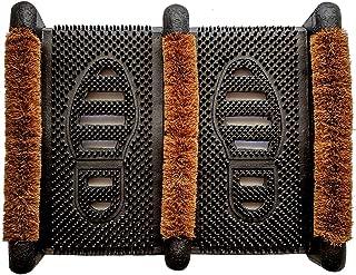Ninamar Mud Scrubber Rubber Brush Mat - Scrub & Scrape Muddy Shoes