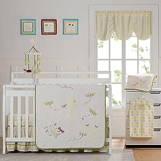 Best laugh giggle & smile zen garden crib bedding collection Reviews