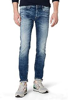 Jack and Jones Men's 12094996 Glenn Original Slim Jeans, Blue (blue Denim), 32W x 32L