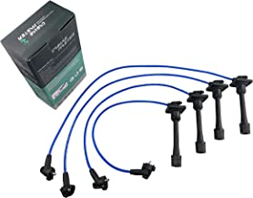 JDMON Compatible with Spark Plug Wire Set Universal GM SBC BBC Chevy Small Block 307 327 350 383 Big Block 396 454 V8 and More 10.5mm Blue Line